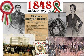 Nemzeti ünnep - 1848-as szabadságharc
