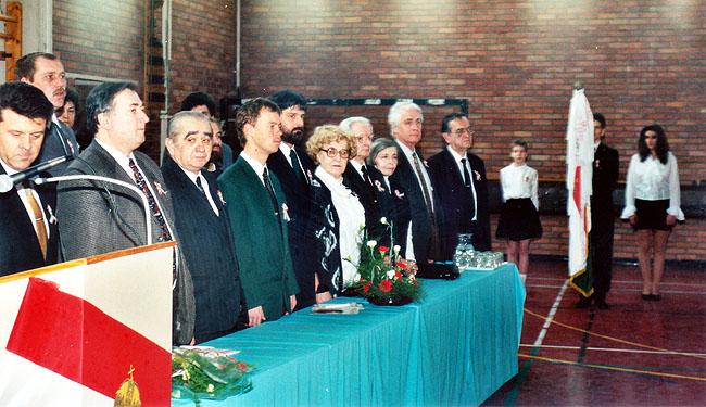 A Széchenyi Általános Iskola névfelvételi ünnepsége
